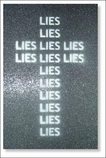 croce bugie