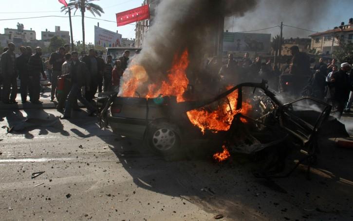 Attacco missilistico a Gaza