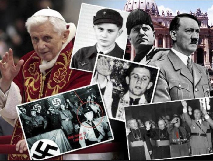 un puzzle delle gesta di Ratzinger