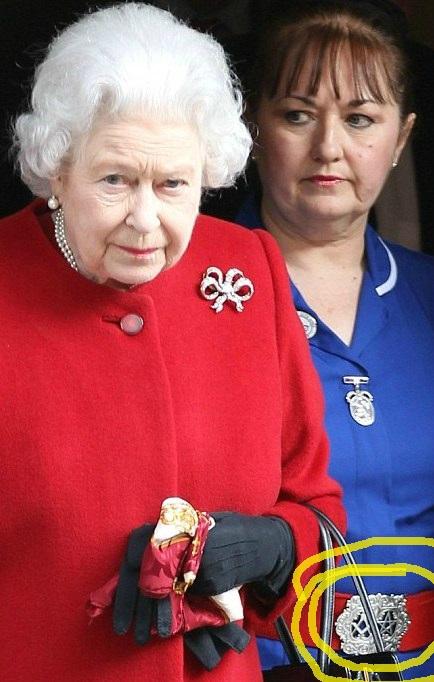 regina elisabetta massone