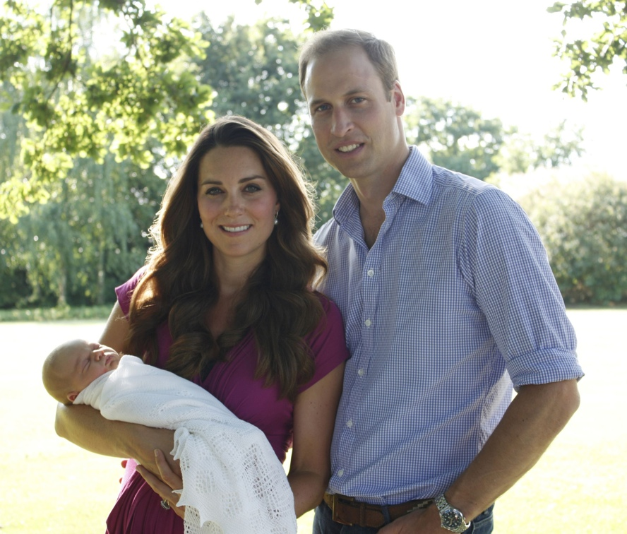 Birth of Prince George of Cambridge