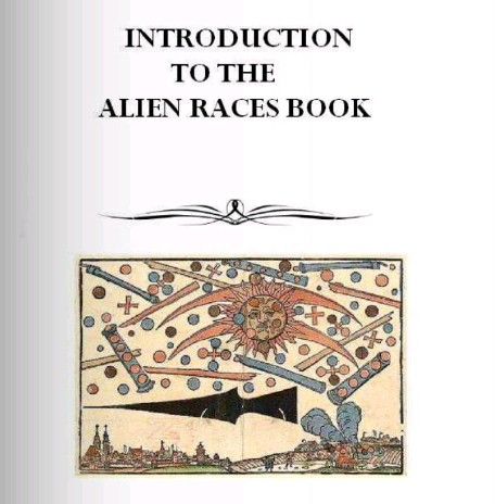 alien book