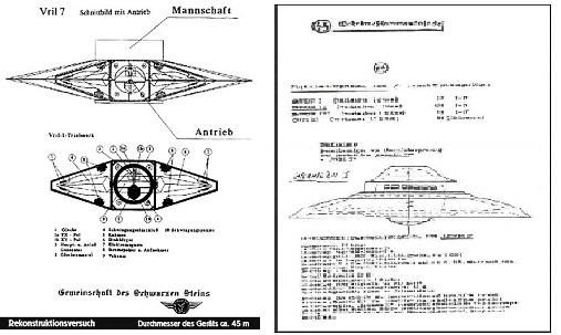 progetto nazi UFO