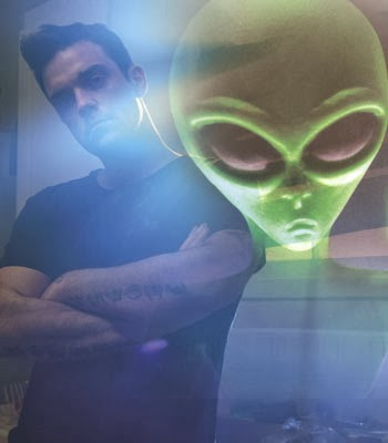 Aliens UFO Robbie Williams