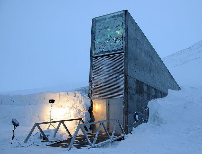 785px-Svalbard_Global_Seed_Vault_main_entrance_1