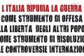 L'Italia è in Guerra