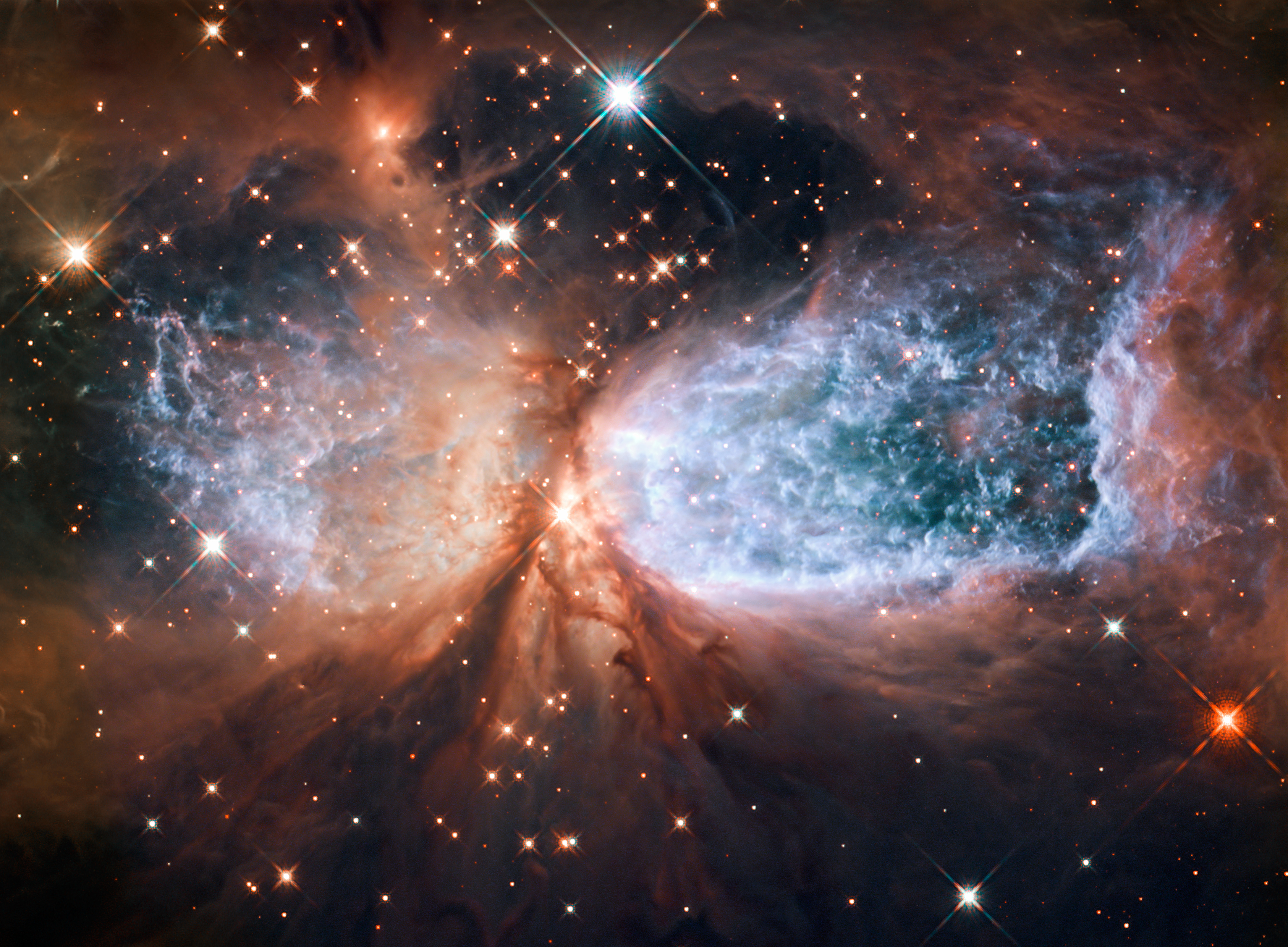 hubble Fabric-of-Space-Time-Seen-Getting-Viciously-Torn-Apart-by-Hubble-Telescope
