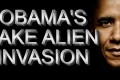 Obama's fake Alien invasion