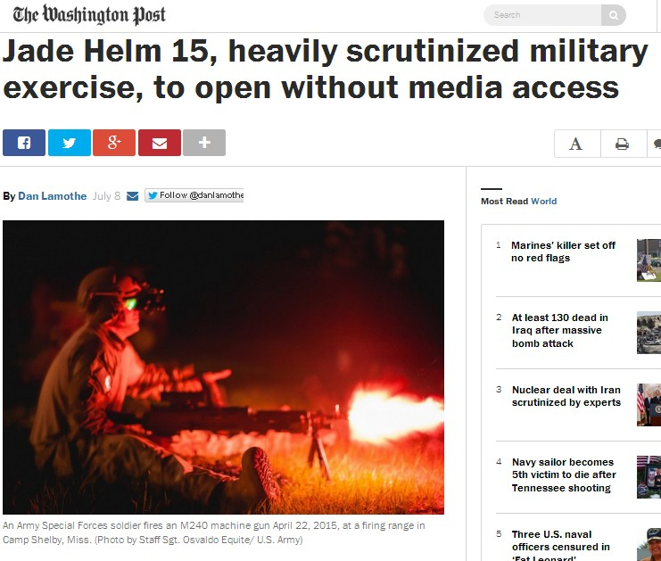 https://www.washingtonpost.com/news/checkpoint/wp/2015/07/08/jade-helm-15-heavily-scrutinized-military-exercise-to-open-without-media-access/